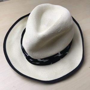 San Diego Hat Co Mens Sz S-M Hat Belted Straw